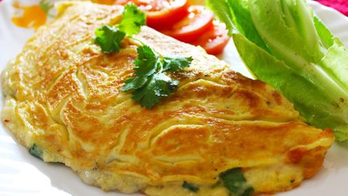 Cheese Omelette | Healthy Egg Omelette - Breakfast Recipe ...