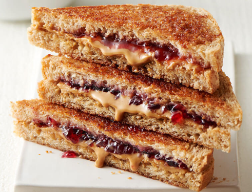 Grilled Peanut Butter & Jelly Sandwich Recipe | Land O'Lakes